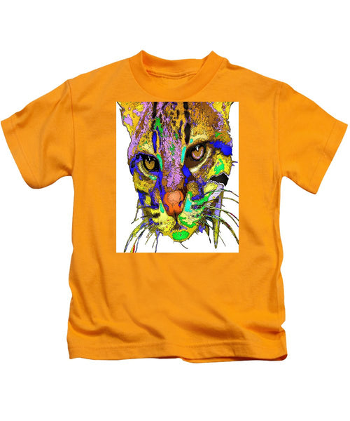 Kids T-Shirt - Whiskers. Pet Series