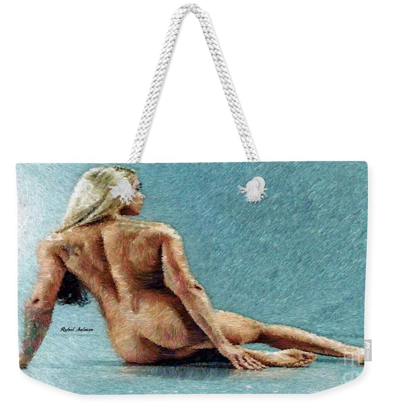 Weekender Tote Bag - Woman In A Flattering Pose