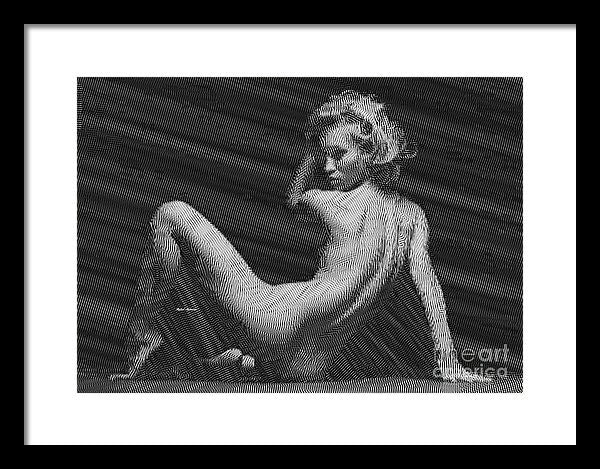 Framed Print - Woman
