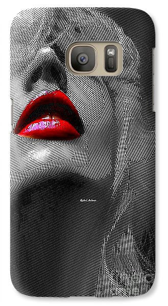 Phone Case - Woman With Red Lips