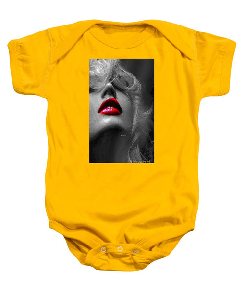 Baby Onesie - Woman With Red Lips