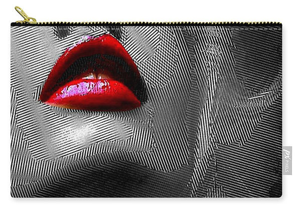 Carry-All Pouch - Woman With Red Lips