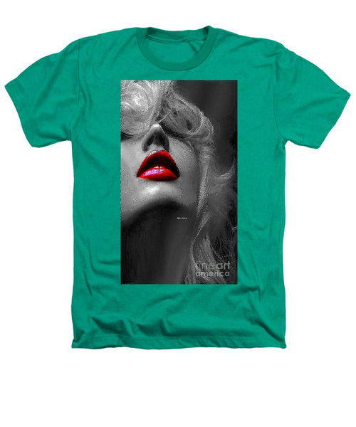 Heathers T-Shirt - Woman With Red Lips
