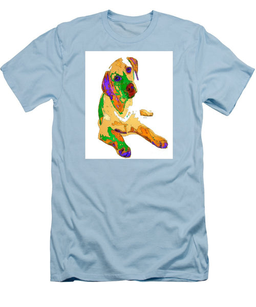 Men's T-Shirt (Slim Fit) - You And Me Forever. Pet Series