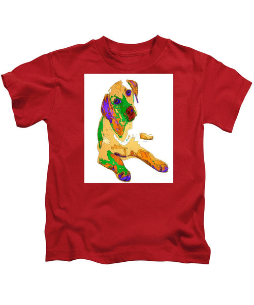 Kids T-Shirt - You And Me Forever. Pet Series