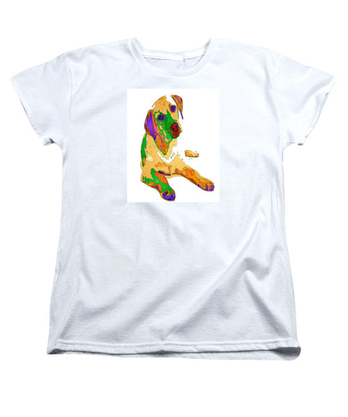 Women's T-Shirt (Standard Cut) - You And Me Forever. Pet Series