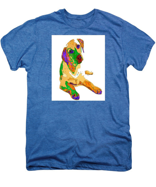 Men's Premium T-Shirt - You And Me Forever. Pet Series
