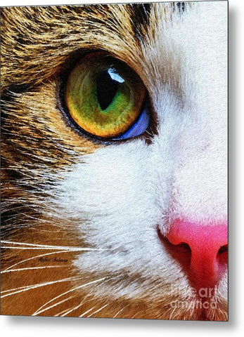 You Know I Love You - Metal Print