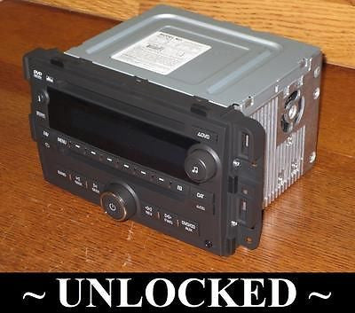 Unlocked 07-13 CHEVY SILVERADO TAHOE GMC SIERRA YUKON BOSE RADIO DVD/CD MP3  USB