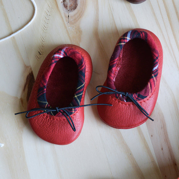Ballet slipper | Tartan (Ready to Ship)