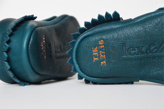 Loafing Around - Teal (Made to order)