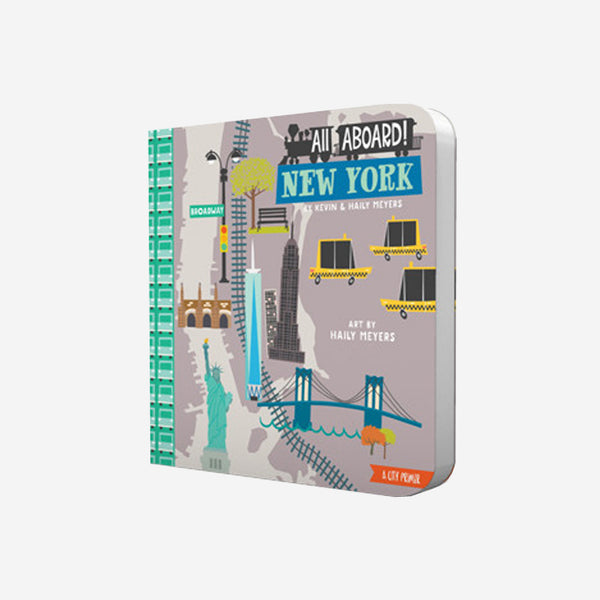 """All Aboard New York"" Board book"