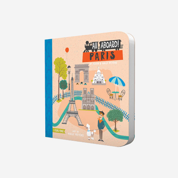 """All Aboard Paris"" Board Book"