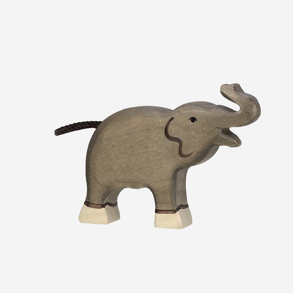 Trumpeting Elephant Wooden Toy