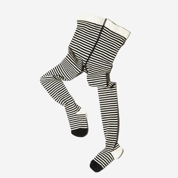 Organic Striped Tights