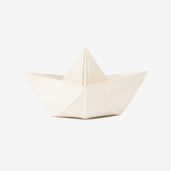 Origami Boat Bath Toy (White)