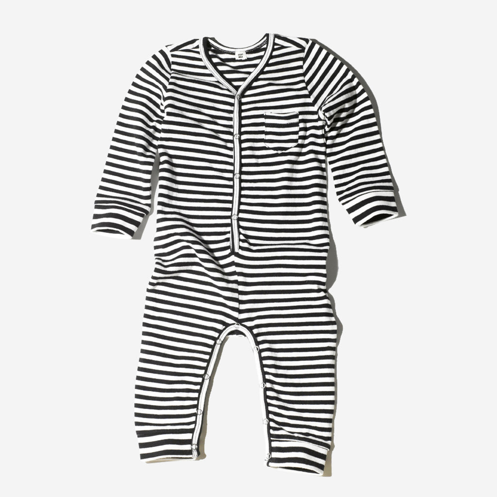 Striped Union Suit