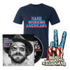 Deluxe Bundle (CD + Navy HWA T-Shirt)