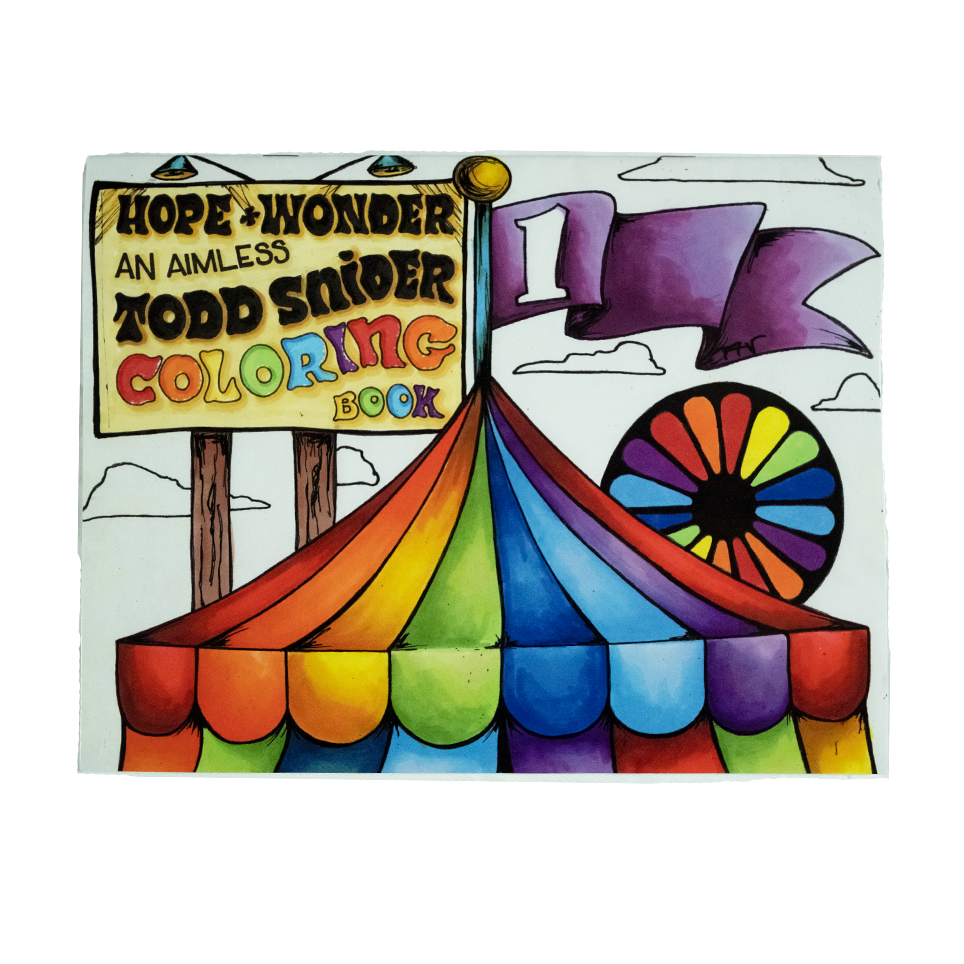 Hope and Wonder Coloring Book