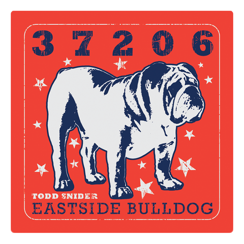 Eastside Bulldog 4x4 Sticker