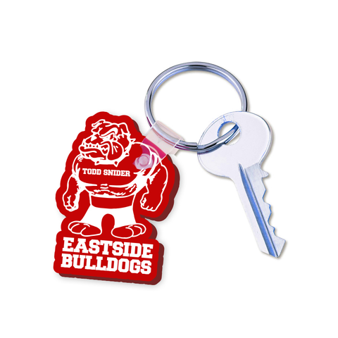 Eastside Bulldog Keychain