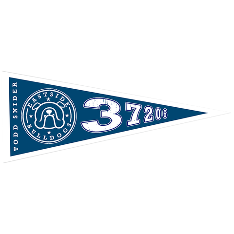 Eastside Bulldog Pennant