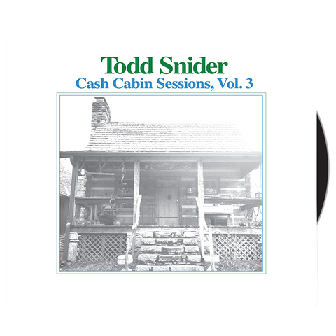 Todd Snider - Cash Cabin Sessions, Vol. 3 CD