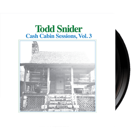 Todd Snider - Cash Cabin Sessions, Vol. 3 - Black Vinyl