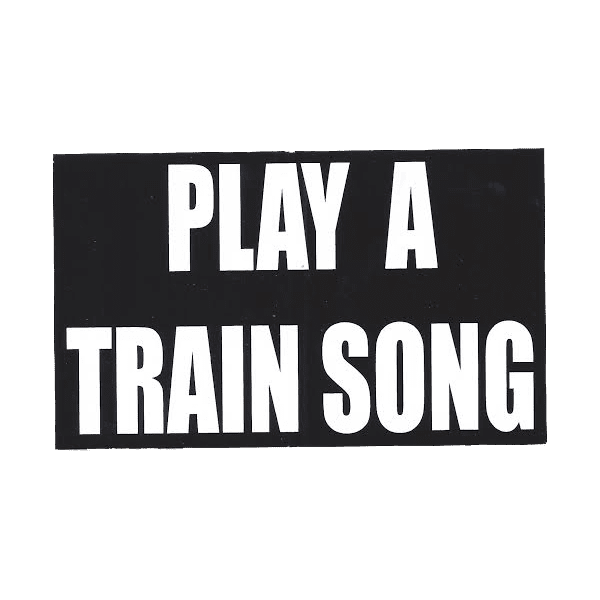 Play A Train Song Sticker
