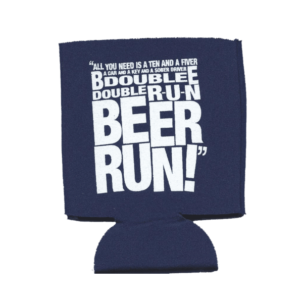 Beer Run Koozie