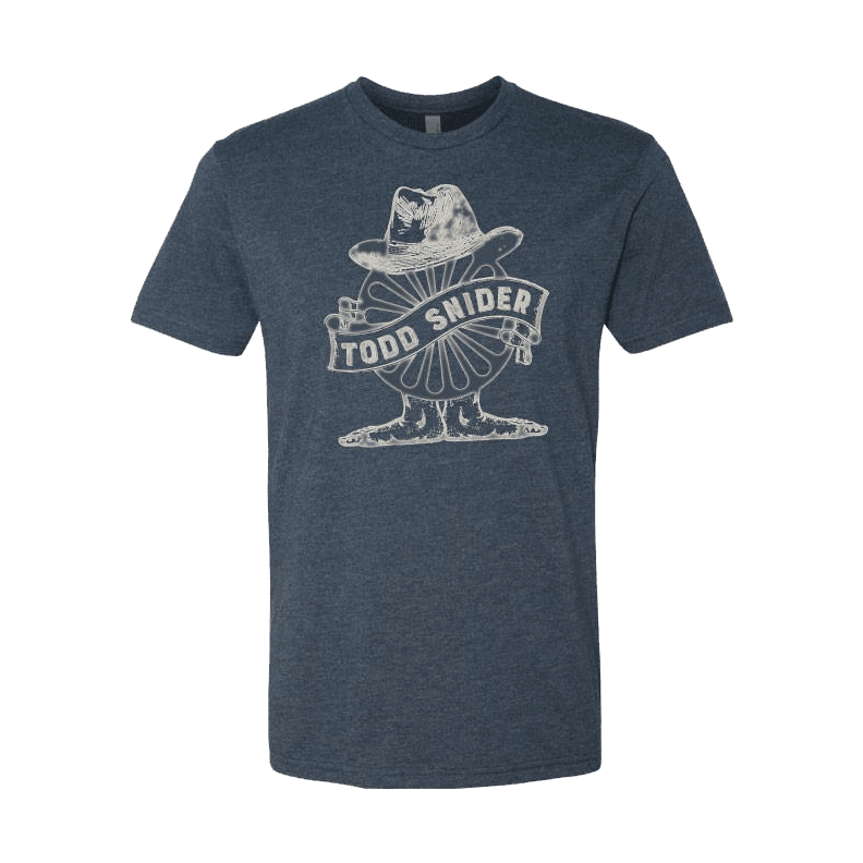 Men's Navy Wheel Tee