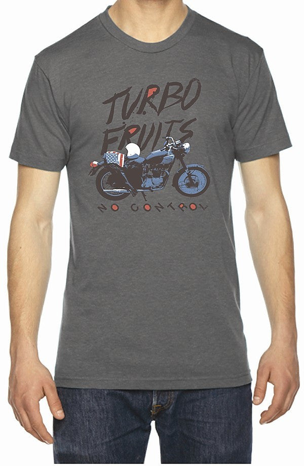 Motorcycle Grey Crew Shirt