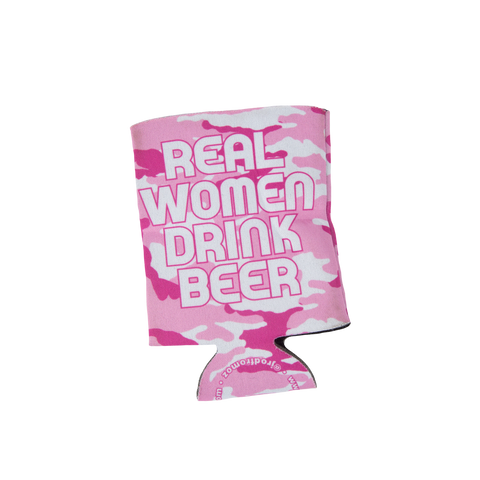 Real Women Drink Beer Koozie