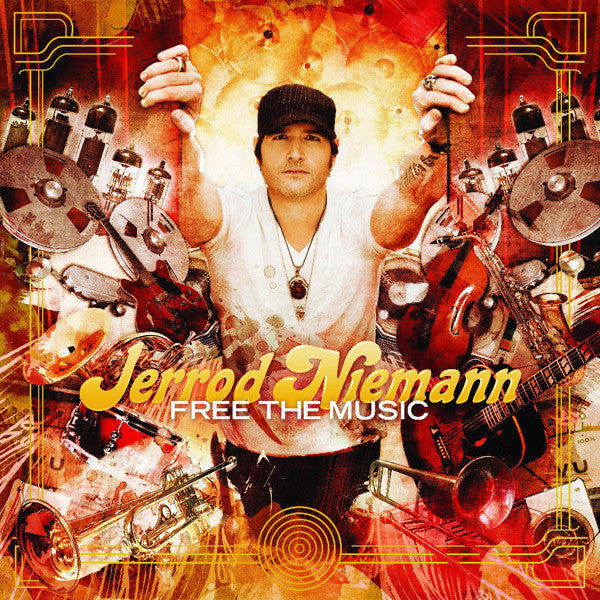Jerrod Niemann - Free The Music CD (SIGNED)
