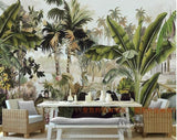tropical plant wall paper