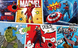 marvel characters captain america iron man wall mural