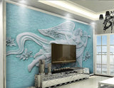 3d relief angel wall mural