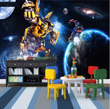 transformer robots wall mural
