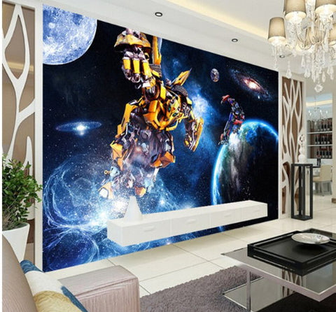 transformers wall paper
