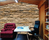 stone bricks wallpaper mural
