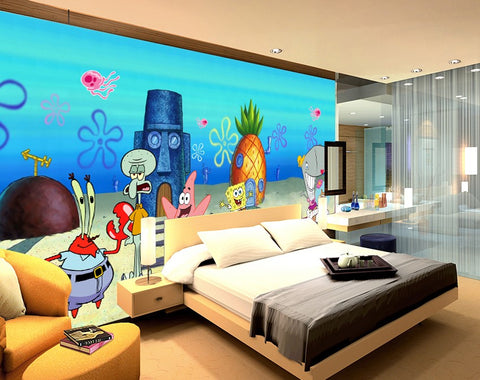 Spongebob Wall Mural; Spongebob Wallpaper ...