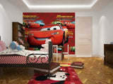 cars cartoon mcqueen 3d wallpaper