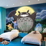 kids wallpaper totoro wall mural
