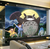 totoro anime wallpaper mural