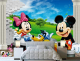 mural mickey mouse