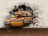 army tank wall mural