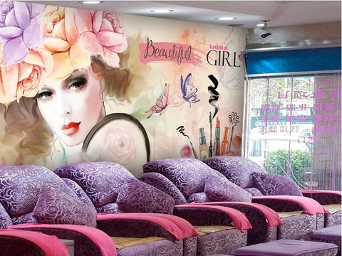 nail salon wallpaper