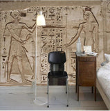 Egypt stone carving wallpaper