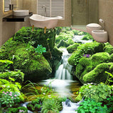 waterfall river wall mural