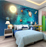 wall mural universe cartoon